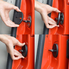 4Pcs Car Decorative Accessories Necessary Door Locks Protective Covers Durable