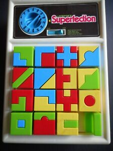 *VINTAGE* Superfection Game Pieces From Lakeside 1975