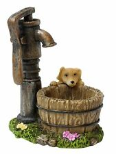Miniature Dollhouse Fairy Garden - Well Puppy - Accessories