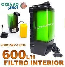 FILTRO INTERIOR de 600L/H 10W SOBO WP-1301F con Foamex igual que EHEIM ACUARIO
