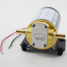 US 12V Oil Scavenge Pump for Mount Turbo Rear Bronze Gear Pump 3.7 GPM 5 Feets