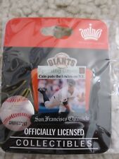 """2009 Matt Cain SF Giants """"Cain Puts The Brakes On N.Y."""" Pin Sporting Green - NEW"""