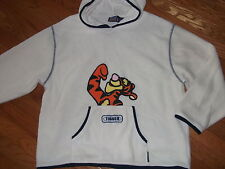 WINNIE THE POOH - TIGGER fleece hoodie sweatshirt Adult Medium
