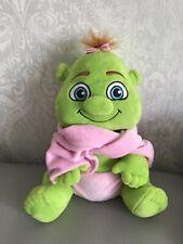 "10"" Shrek baby girl soft toy plush Shrek Adventure Good condition"