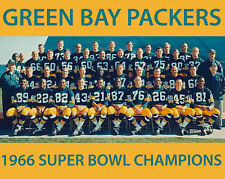 1966 GREEN BAY PACKERS 8X10 TEAM PHOTO FOOTBALL NFL PICTURE SUPER BOWL CHAMPS