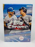 Topps 2020 Chrome Baseball Blaster Box Brand New Factory Sealed