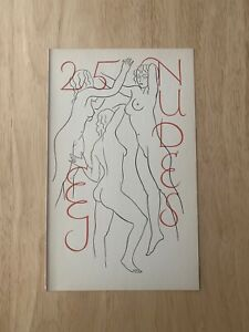 Eric Gill – 25 Nudes - Original Print From The 1938 First Edition - Title Page