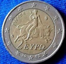 2 Euro Münze Griechenland🇬🇷2002(s*) Fehlprägung❕(Spiegelei)