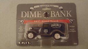 ERTL 1-43 scale 1932 Ford Panel Truck  AGWAY 1993 Dime Bank NIP