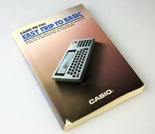 Computer Casio PB 700  Easy Trip To Basic Instruction
