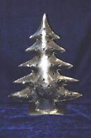 New Iron X-Mas Tree Shape Candle Stand Handmade Home Decor Collectible PT-65