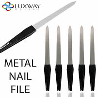 STRONG METAL DOUBLE SIDED NAIL FILE FILES STRONG EDGE GROOMING FINGER TOE NAIL