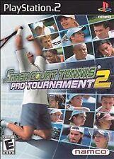 Smash Court Tennis: Pro Tournament 2 (Sony PlayStation 2, 2004)-Complete