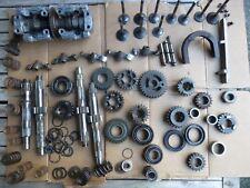 Yamaha TX 750, TX750 engine parts lot (3), head parts, camshaft, transmission