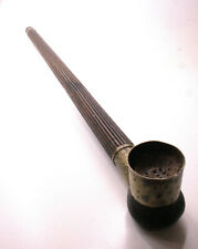 Persische / Iranische Langpfeife Holz, Silber und Bein