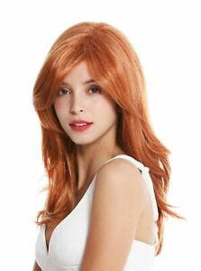 WIG ME UP Women's Wig Long Slightly Wavy Parting Light Copper Red Blonde