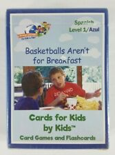 Nip Basketballs Aren't for Breakfast foreign language Spanish flashcards 54 pack