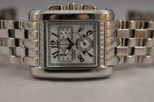 New Big Mens Giantto Swiss Quartz Chronograph Steel Bracelet Luxury Watch