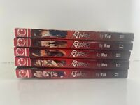Rebirth 14 15 16 17 18 lot of 5  Shonen Manga, English Woo TokyoPop NEW