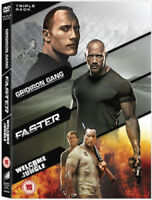 Faster/Gridiron Gang/Welcome to the Jungle DVD (2011) Dwayne Johnson, Tillman