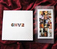 MADONNA GHV2 UK PROMO PICTURE DISC GATEFOLD PRESS PACK BOX SET & OFFICIAL STAMPS