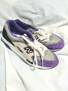 NEW NEW BALANCE 1600 CM1600CP GRAY PURPLE ELITE LIMITED EDITION SNEAKERS 10.5