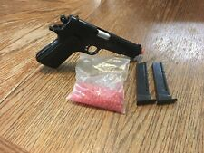 New listing Red Jacket 1911 Spring Airsoft Gun With Bbs And Two Magazines Umarex