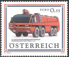 Austrian Car & Motoring Postal Stamps