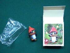 Mint NEW NOS Hallmark Keepsake Christmas Ornament - 1981 Perky Penguin NIB MIB