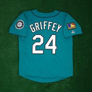Ken Griffey Jr. 1994 Seattle Mariners 125th Anniv. Alt Teal Jersey Men's (M-2XL)
