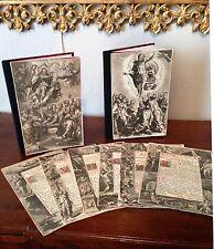 Lot de GRAVURES religieuses / MISSEL ROMAIN / XVIIe siècle