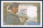 BILLET DE BANQUE - 10 FRS MINEUR Fayette 8.21 du 7=4=1949.D en NEUF G.186 11365
