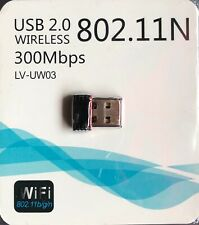 Wireless USB WiFi Adapter Dongle Network LAN Card 802.11b/g/n