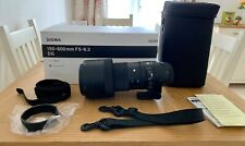 Sigma 150-600mm f/5-6.3 DG OS HSM 'C' contemporáneo Lente para Canon EF