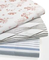 NEW Westport Home Organic Cotton 300 TC FULL Sheet Set WHITE Bedding G1327