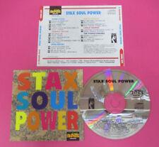 CD Compilation Stax Soul Power EDDIE FLOYD RUFUS THOMAS STAPLE SINGERS Promo(C42