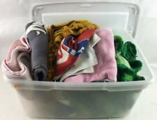 Collection Of Crocheted Blankets, Bathroom Towels Lot 3051
