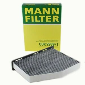 Mann Filter Cabin Air Filter CUK2939/1 fits VW GOLF MK VI 5K1 2.0 R 4motion