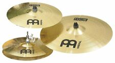 "Meinl cymbals SETs HCS New Player Set Up 14"" hats, 16"" Crash, 20"" Ride New Pack"