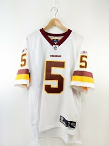 New Vintage Redskins Donovan Mcnabb Reebok Onfield Jersey White Sz M
