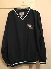 Belmont Stakes 2002 Embroidered Shirt Green, Long Sleeved, Pockets Size XL