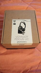 Plantronics Voyager Focus UC B825-M Wireless Headset (202652-02) - Brand New