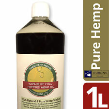 1 Litre Pure Hemp Seed Oil for Fishing 100 Pure Cold Pressed Finest Quality