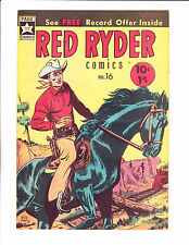 "Red Ryder Comics No 16 -1960's - Australian - ""Tree On Railroad Tracks Cover!  """