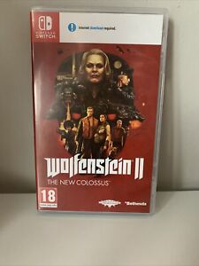 Wolfenstein II 2 The New Colossus - Nintendo Switch