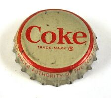 Coca-cola Coke tapita estados unidos soda bottle cap corcho junta-Coke margen rojo