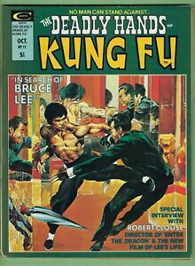 - -> Deadly Hands of Kung-Fu #17 .. 1975 B&W Marvel Magazine .. Neal Adams