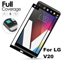 For LG V20 Full Screen Coverage Anti-Scratch Tempered Glass Screen Protector New