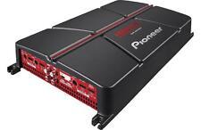 Pioneer 4-Channel 60 Watts RMS Bridgeable Amplifier w/ Bass Boost ,Black / Red