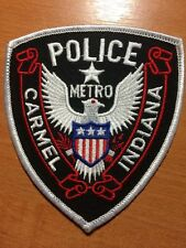 PATCH METRO POLICE CARMEL - INDIANA IN